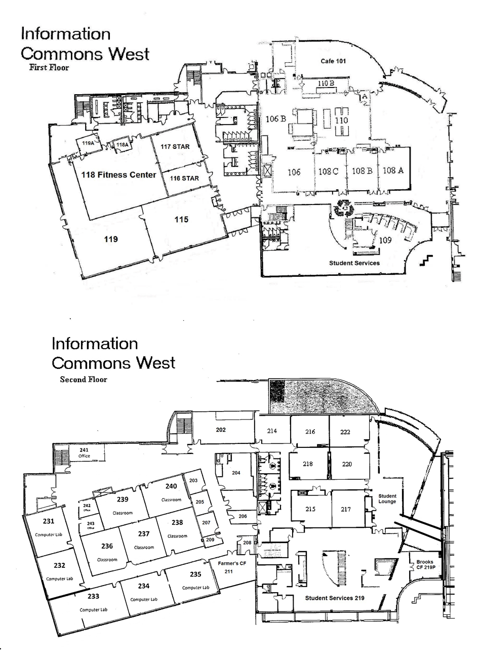 ... Information Commons West Floor Plans ...